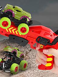 cheap -Construction Truck Toys Launch Cars Dinosaur Cars Toys Dinosaur Drop-resistant Plastic Mini Car Vehicles Toys for Party Favor or Kids Birthday Gift Random Dinosaur/Car / Kid's