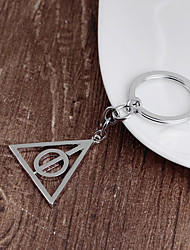 cheap -Rotatable triangle key chain
