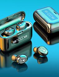 cheap -B281 TWS Wireless Bluetooth Headphone LED Display With 2000mAh Power Bank Headset With Microphone