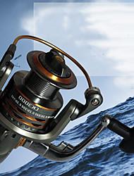 cheap -Fishing Reel Spinning Reel 5.0:1  4.7:1 Gear Ratio+13 Ball Bearings Sea Fishing / Freshwater Fishing / Trolling & Boat Fishing / Hand Orientation Exchangable
