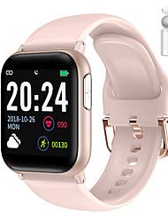 Недорогие -jsbp pv6m мужчины женщины smartwatch для android samsung ios apple bluetooth водонепроницаемый сенсорный экран монитор сердечного ритма измерение артериального давления спорт ecgppg таймер секундомер