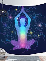 cheap -Indian Buddha Statue Meditation 7 Chakra Tapestry Wall Hanging Mandala Tapestries Wall Cloth Psychedelic Yoga Carpet
