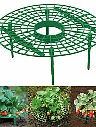 cheap -Strawberry Stand Frame Holder Balcony Planting Rack Fruit Support Plant Flower Climbing Vine Pillar Gardening Stand