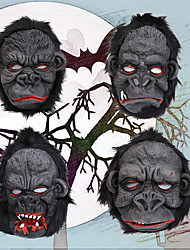 cheap -Halloween Party Toys Masks Costume 2 pcs Thrilling Orangutan King Kong Vinyl Adults Trick or Treat Halloween Party Favors Supplies