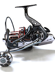 cheap -Spinning Reel 4:7:1 Gear Ratio+11 Ball Bearings Sea Fishing / Hand Orientation Exchangable