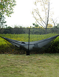 cheap -Bug Mosquito Net for Camping Hammock Outdoor Totally Anti-Mosquito 360 Degree Protection Portable Breathable Ultra Light (UL) Wear Resistance Mesh for Camping / Hiking Hunting Hiking Black 280*145 cm