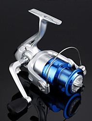 cheap -Fishing Reel Spinning Reel Gear Ratio+1 Ball Bearings Sea Fishing / Freshwater Fishing / Trolling & Boat Fishing / Hand Orientation Exchangable