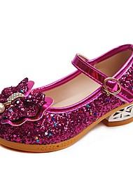 cheap -Girls' Heels Comfort Princess Shoes Halloween Synthetics Little Kids(4-7ys) Purple Fuchsia Pink Summer