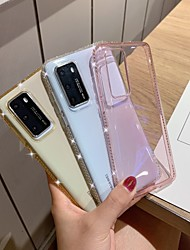 cheap -Case For Huawei scene graph P40 P40 Pro P30 P30 Pro ice diamond series transparent diamond TPU material mobile phone case
