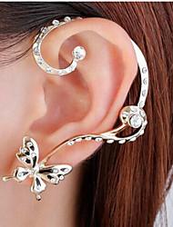 cheap -Women's Stud Earrings Pear Cut Love Imitation Diamond Earrings Jewelry Gold For Wedding Party Daily Festival 1pc