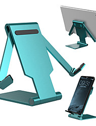 cheap -Mobile phone/Tablet Universal Stand Metal portable retractable lazy man desktop stand