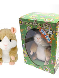 cheap -Stuffed Animal Electric Toys Plush Toys Plush Dolls Hamster Dancing Recordable Cotton Imaginative Play, Stocking, Great Birthday Gifts Party Favor Supplies Boys and Girls Adults Kids Baby & Toddler