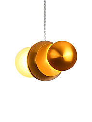 cheap -2-Light 18 cm Single Design Pendant Light Metal Mini Electroplated LED Modern 110-120V 220-240V