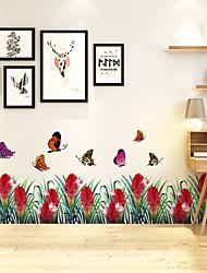 billige -sommerfugl vægklistermærker dekorative vægklistermærker, pvc boligindretning vægoverføringsbilleder vægdekoration / aftagelig