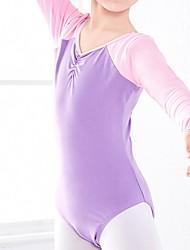 abordables -Ballet Collant / Combinaison Combinaison Fille Entraînement Utilisation Taille moyenne Polyester