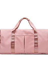 povoljno -Oxford tkanje Patent-zatvarač Putna torba Dnevno Crn / Pink