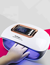 cheap -Sun H4plus Nail Dryer/ LED Nail Lamp 72W Nail Polish Light/UV LED Nail Lamp 4 Timer Setting LCD Display Automatic Sensor with 36pcs LEDs for Fast Drying Fingernails and Toenail Fast Shipping