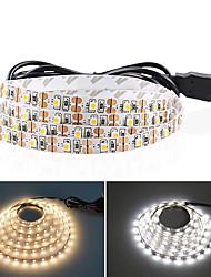 cheap -5M USB LED Strip Lights SMD 2835 DC 5V Flexible Light Lamp 60LEDs / M Desktop Decor Tape TV Background Lighting