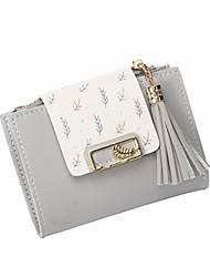 cheap -Women's Bags PU Leather Wallet Zipper for Daily Black / Purple / Blushing Pink / Dusty Rose / Khaki / Light Gray