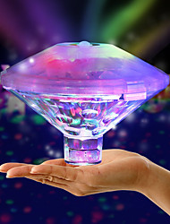 cheap -Floating Underwater Light RGB Submersible LED Disco party Light Glow Show Swimming Pool Decoration Light Hot Tub Spa Lamp Baby Bath Light Not Battery Delivery