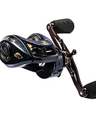 cheap -Fishing Reel Baitcasting Reel 6.3/1 Gear Ratio+1 Ball Bearings Right-handed / Left-handed Freshwater Fishing / Carbon Fiber