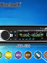 cheap -520 Hands-free Multifunction Autoradio Car Radio Bluetooth Audio Stereo In Dash FM Aux Input Receiver USB Disk SD Card