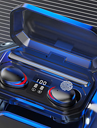 cheap -LITBest M15 TWS Wireless Earbuds Magnetic Switch Siri Voice Assistant Power Bank Light up Earphone Bluetooth5.0 LED Digital Display Waterproof And Sweaterproof Headset With 2000mAh Charging Box