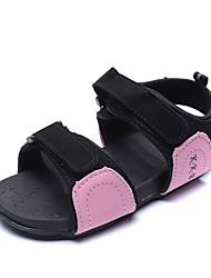 halpa -Tyttöjen Comfort PU Sandaalit Pikkulapset (4-7 vuotta) Pinkki / Oranssi / Harmaa Kesä