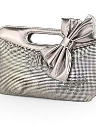 رخيصةأون -نسائي / للفتيات ترتر سبيكة حقيبة مساء 2020 لون الصلبة رمادي