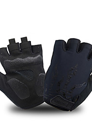 cheap -AK050 Mens Cycling GlovesHalf Finger Biking Glove Road Bicycle Gloves Gel Pad Shock-Absorbing Anti-Slip Breathable Motorcycle Mountain Bike Gloves Unisex Women