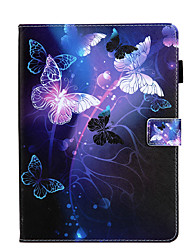 cheap -Case For Apple iPad Mini 3 2 1  iPad Mini 4  iPad Mini 5 360 Rotation  Shockproof  Magnetic Full Body Cases Word  Phrase  Butterfly Panda PU Leather  TPU