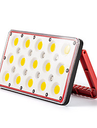 cheap -1pc 30 W LED Floodlight Camping Lights Waterproof Multiple use with Lighting Function RGB+White 5 V Outdoor Lighting 15+8 LED Beads