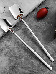 cheap -Coffee Spoon 304 Stainless Steel Ice Spoons Long Handle Tea Kitchen Tools Hot Drinking Flatware