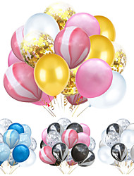 cheap -Party Balloons 20 pcs Party Supplies Latex Balloons Confetti Balloons Boys and Girls Party Birthday Decoration 12inch for Party Favors Supplies or Home Decoration