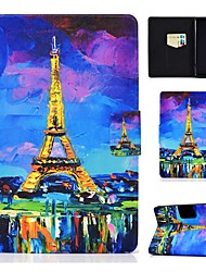 cheap -Case For Amazon Kindle PaperWhite 2 3 4 Kindle Paperwhite 2018  Amazon HD8 HD10 Card Holder with Stand Pattern Full Body Cases Eiffel Tower PU Leather