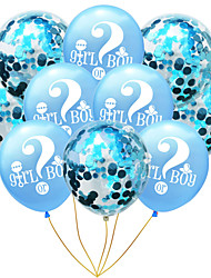 cheap -Party Balloons 10 pcs Gender Reveal He or She Party Supplies Latex Balloons Boys and Girls Party Decoration 12inch for Party Favors Supplies or Home Decoration