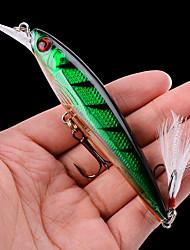 cheap -1 pcs Fishing Lures Hard Bait Minnow Fishing Lure 11CM 13G Hard Plastic