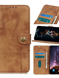 cheap -Case For Nokia Nokia 2.2 Nokia 6.2 Nokia 7.2 Card Holder Flip Magnetic Full Body Cases Solid Colored PU Leather TPU