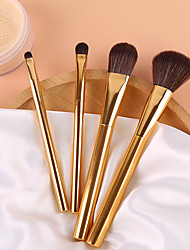 cheap -Professional Makeup Brushes 4pcs Soft Adorable Artificial Fibre Brush Aluminium Alloy 7005 for Foundation Brush Eyeshadow Brush Makeup Brush Set