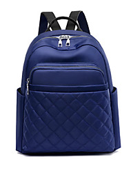 cheap -School Bag Women's PU Leather Zipper Solid Color Daily / Office & Career Black / Red / Blue / Khaki / Fall & Winter