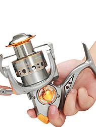 cheap -Fishing Reel Spinning Reel 5.2:1 Gear Ratio+13 Ball Bearings Hand Orientation Exchangable Sea Fishing / Freshwater Fishing / Trolling & Boat Fishing