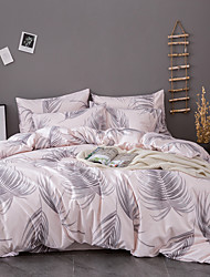 cheap -Bedding Sets Duvet Cover Sets King/ Queen/ Double/ Full Size with Zipper Closure Ultra Soft Hypoallergenic Comforter Cover Sets 3 Pieces Include 1 Duvet Cover& 2 Pillow Shams (Size Single 1 Duvet Cove