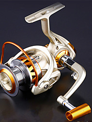 cheap -Fishing Reel Spinning Reel Gear Ratio+12 Ball Bearings Sea Fishing / Freshwater Fishing / Trolling & Boat Fishing / Hand Orientation Exchangable