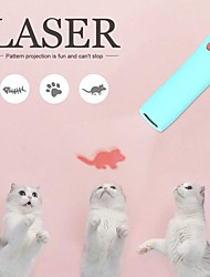 cheap -Teaser Cat Kitten 1 set Animal Pet Friendly Lighting Pet Exercise Pet Training ABS+PC Gift Pet Toy Pet Play