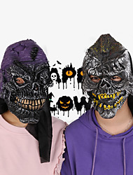 cheap -Halloween Party Toys Masks Costume Hooded Masks 2 pcs Skull Skeleton Thrilling Masquerade Vinyl Adults Trick or Treat Halloween Party Favors Supplies