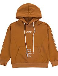 cheap -Kids Boys' Active Basic Striped Solid Colored Print Long Sleeve Hoodie & Sweatshirt Black