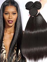 abordables -Lot de 3 Tissage de cheveux Cheveux Péruviens Droit Extensions de cheveux Naturel humains Cheveux Naturel Rémy Paquets de 100% Remy Hair Weave 300 g Tissages de cheveux humains Extensions Naturelles