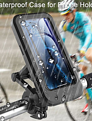 cheap -Waterproof Bicycle Phone Holder Universal Bike Motorcycle Handlebar Clip Stand Mount Bracket For iPhone Samsung Huawei Xiaomi IP68
