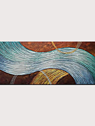 cheap -Hand-Painted Abstract Canvas Wall Art Modern Texture Oil Painting Contemporary Art