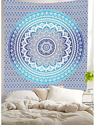 cheap -Tapestry Indian Mandala Wall Hanging Twin Hippie Bedspread Gypsy Art Decor Throw Mandala Pattern Blanket Tapestry Home Decor